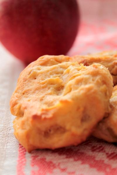 Домашнее яблочное печенье