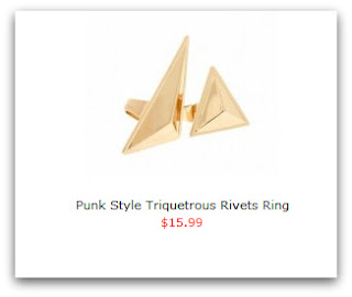 bijou triangle romwe