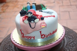 Photographer Cake