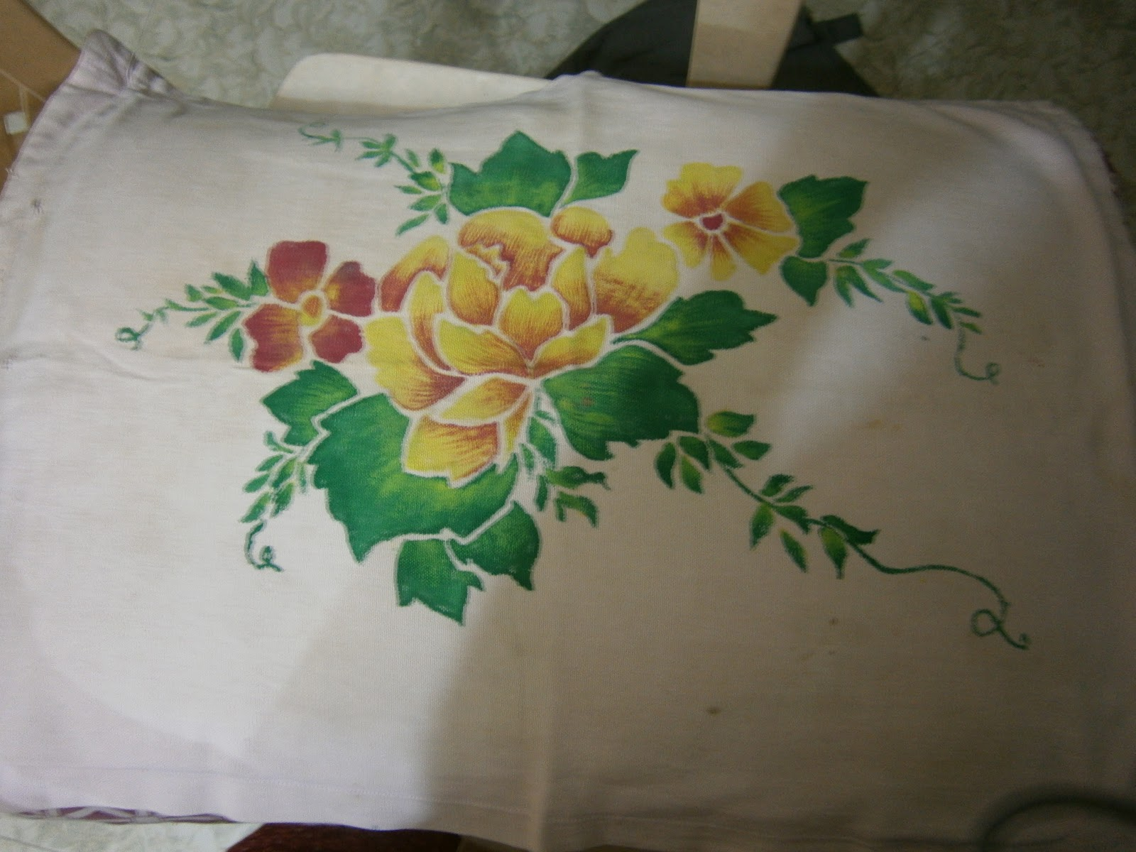 Pillow Cover Designing