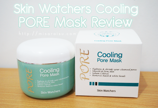 skin watchers pore mask review