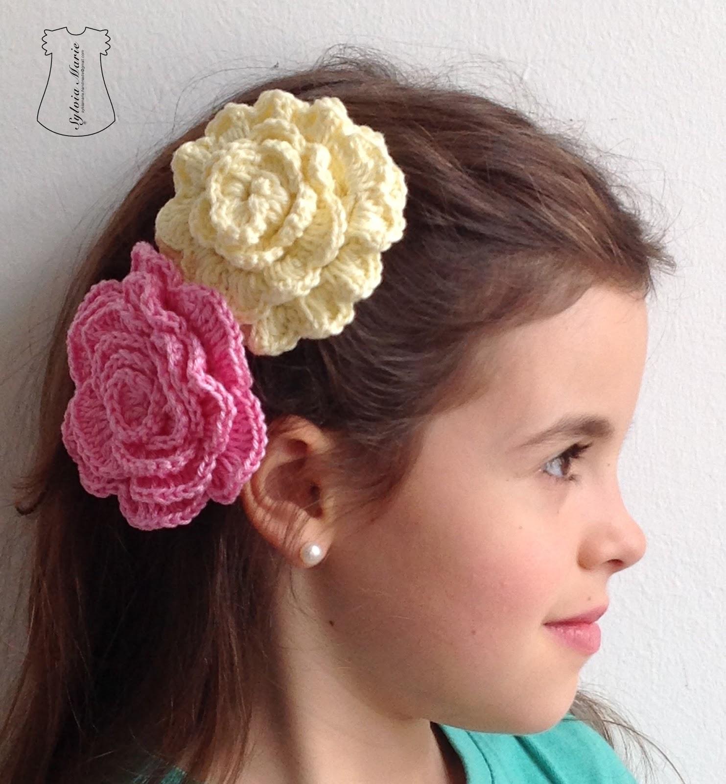 Diademas en crochet for Modelos de diademas
