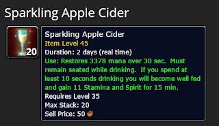 Winter Veil Sparkling Apple Cider