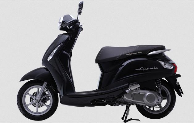 Yamaha Nozza Grande DX 2014 xanh đen ánh kim