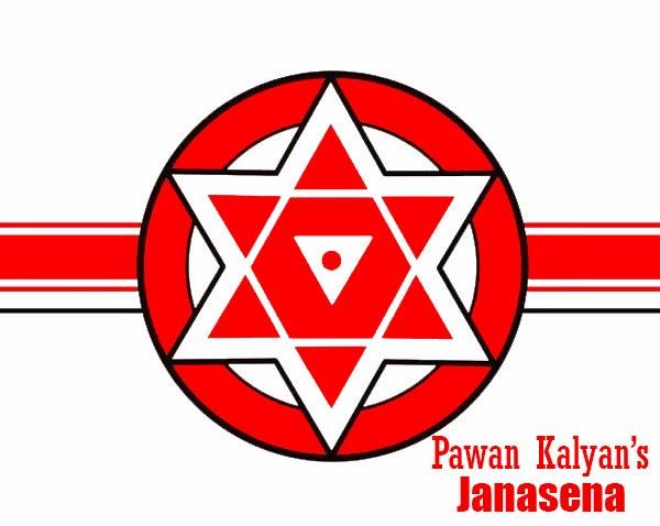 pawan kalyan janasena party flag janasena logo
