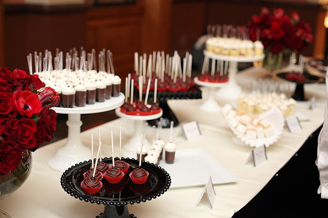 Twin Cities Miniature Dessert Table
