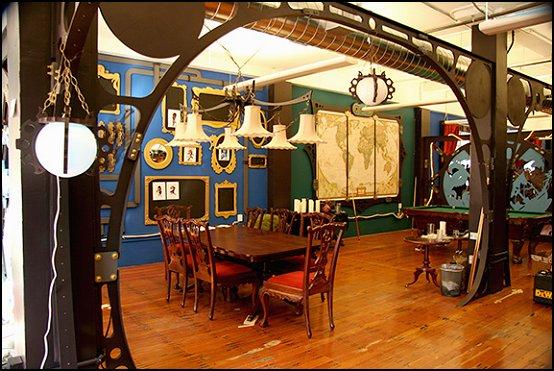 Modern house plans steampunk decorating ideas victorian punk rock style creates the steampunk - Steampunk bedroom ideas ...