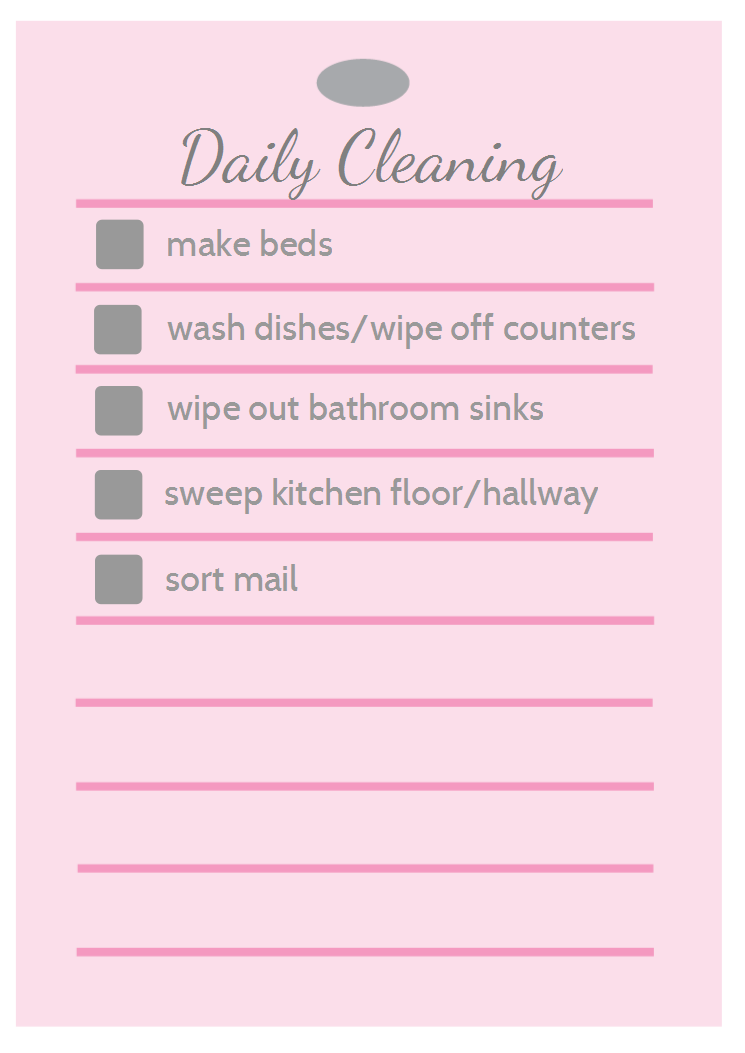 Daily, Weekly, and Monthly Cleaning - A Real-Life Housewife