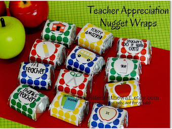 Sweet Treats with Sweet Messages for Teacher