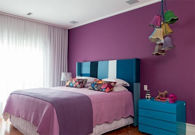Colorindo o quarto  Jeito de Casa  Blog de Decoração