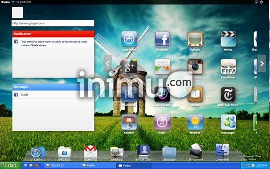iPadian - iPad emulator - start