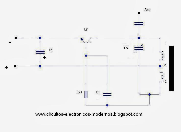Circuito Oscilador : Circuitos electronicos modernos circuito oscilador