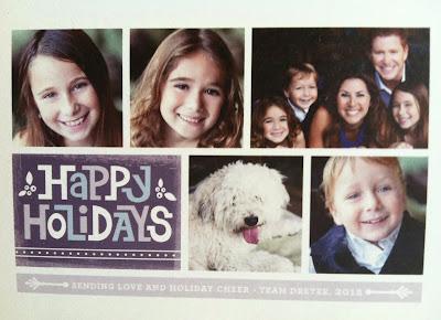 VeegMama's 2012 Holiday Card