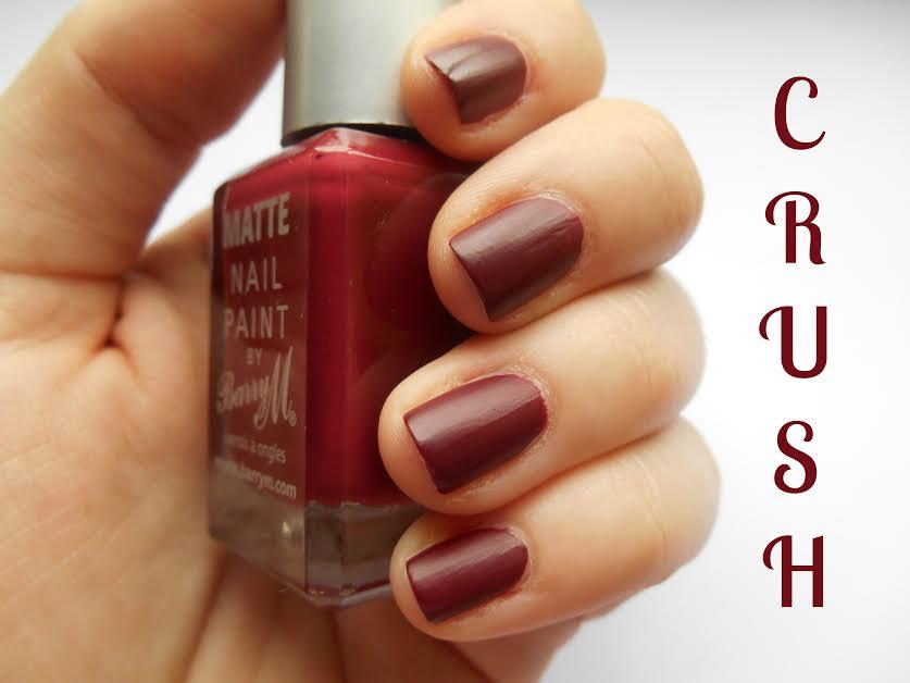 Barry M's Crush nail polish. Visit www.forarealwoman.com