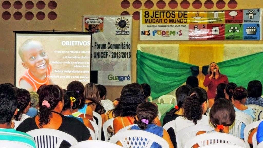 3º PRÉ-FÓRUM COMUNITÁRIO DO SELO UNICEF É REALIZADO NAS COMUNIDADES DE LAGOA DOCE, MANGUE SECO