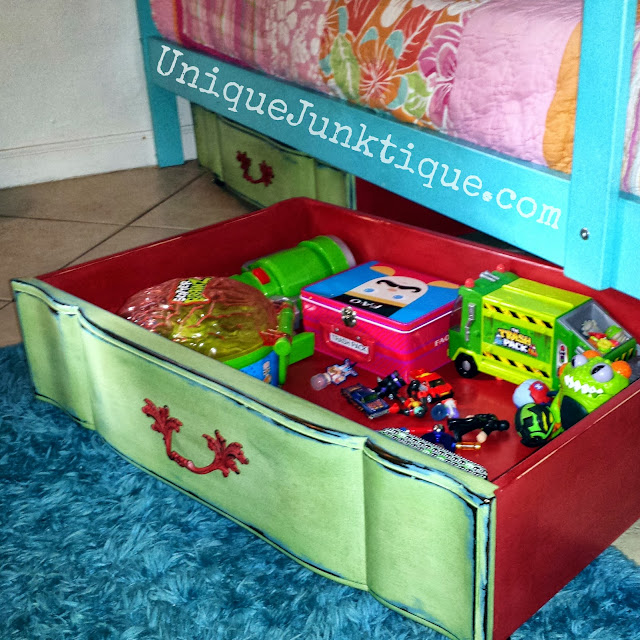 Storage Junk Drawer Painted In CeCe Caldwell Chalk Paints