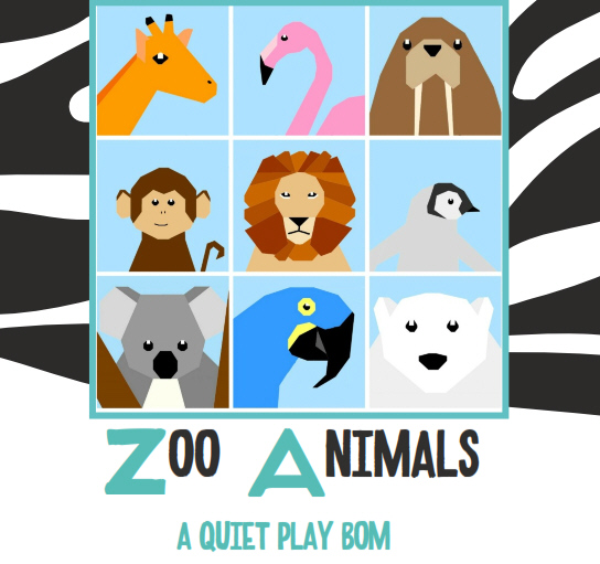 Zoo Animals BoM @Quiet Play