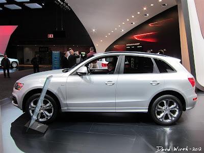 Audi Q5 at the Detroit International Auto Show