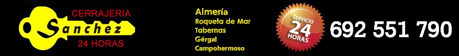 CERRAJEROS ALMERÍA - 692 551 790 - SERVICIO 24 HORAS