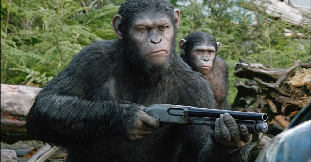 Andy Serkis in Dawn of the Planet of the Apes