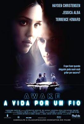 Filme Awake: A Vida Por Um Fio DVDRip RMVB Dublado