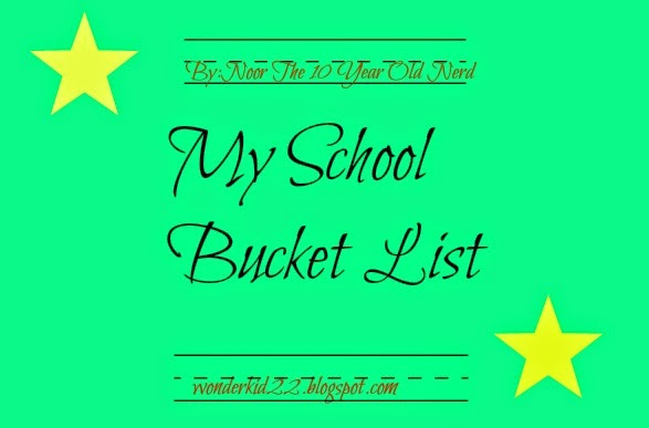 Bucket List Essay