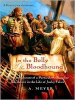 Cover of In the Belly of the Bloodhound by L. A. Meyer
