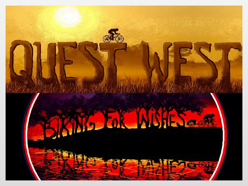 Biking For Wishes and Quest West