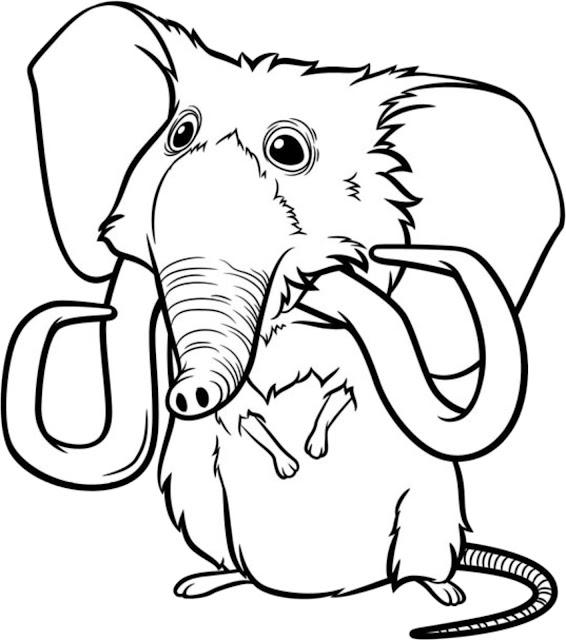 Desenho do Os Croods para colorir