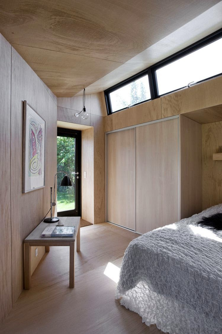 backyard guest house in praestoe by martin kallesø home img
