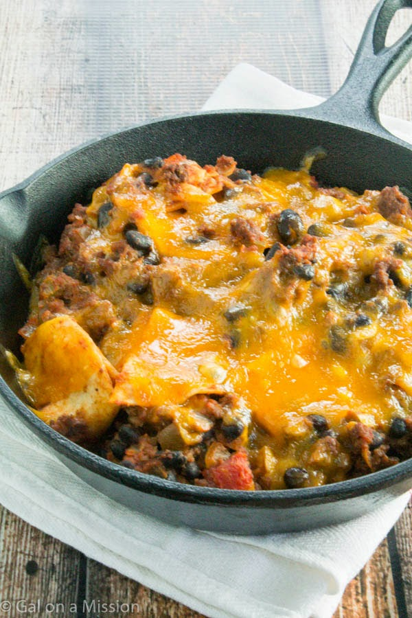 Beef Taco Skillet Casserole