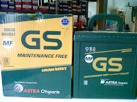 Tersedia Accu GS Astra