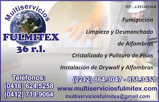 MULTISERVICIOS FULMITEX 36 R.L. en Paginas Amarillas tu guia Comercial