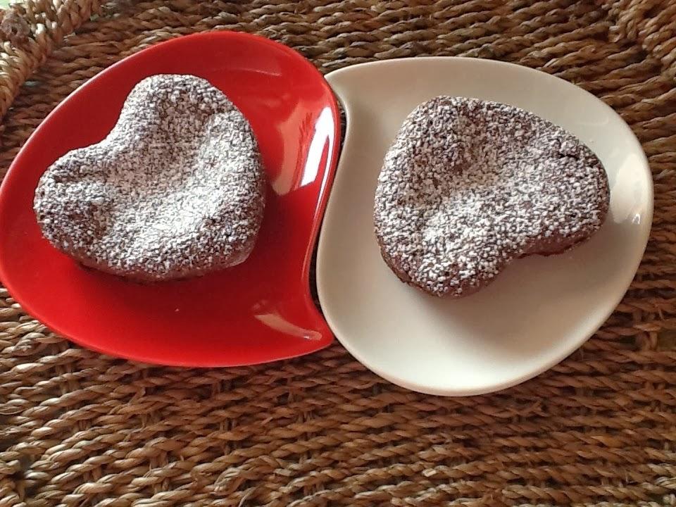 tortine al cioccolato (consentito anche per i celiaci)