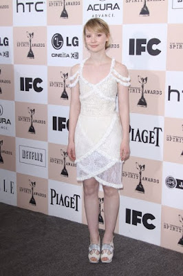 Mia Wasikowska hot photo in Film Independent Spirit Awards 2011