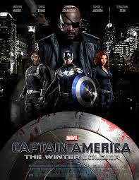 Marvel Phase 2 Captain America: Winter Soldier movie poster