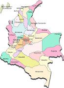 DIBUJOS DEL MAPA DE COLOMBIA mapa de colombia en blanco
