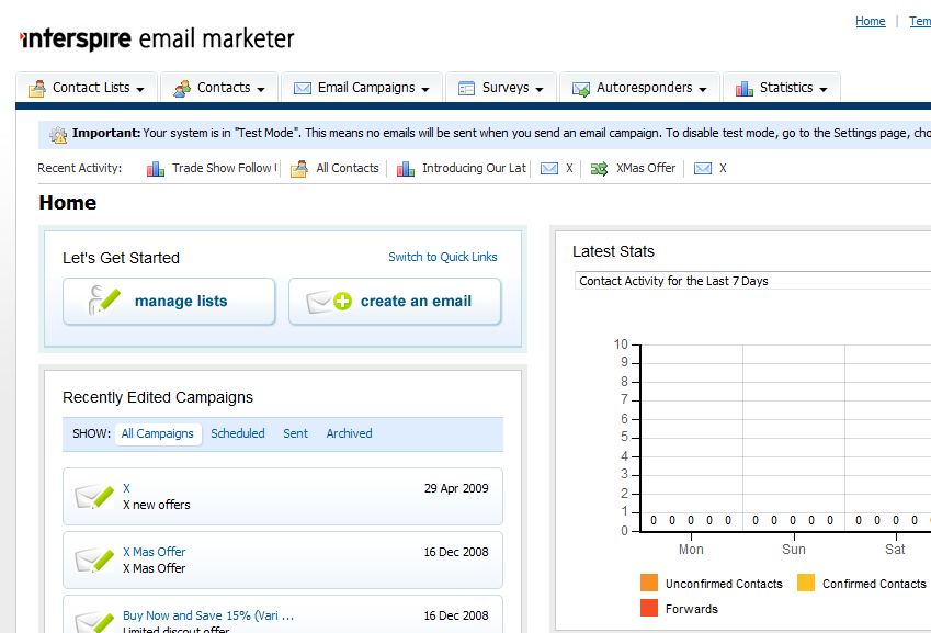 Interspire Email Marketer Version 6.1.3 N.u.l.l.e.d