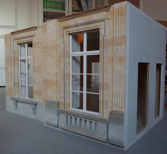 Petit Trianon,Antichambre,Maquette,Doll House