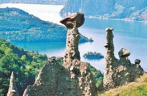 Iseo Lake Franciacorta News : LE PIRAMIDI di ZONE
