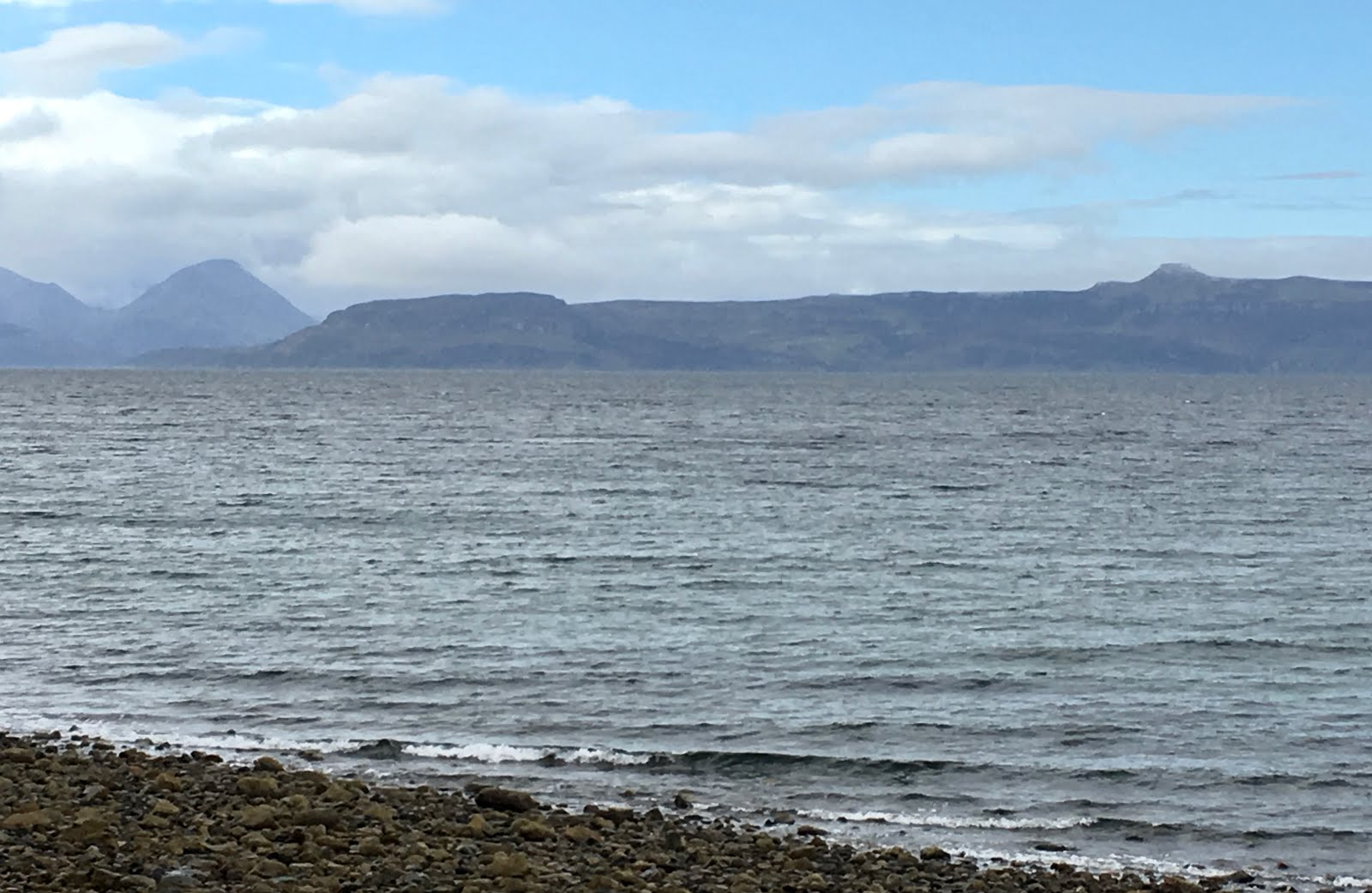 The view from Applecross....