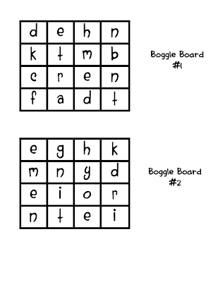 graphic regarding Boggle Printable known as College or university Working day Appreciate: Boggle