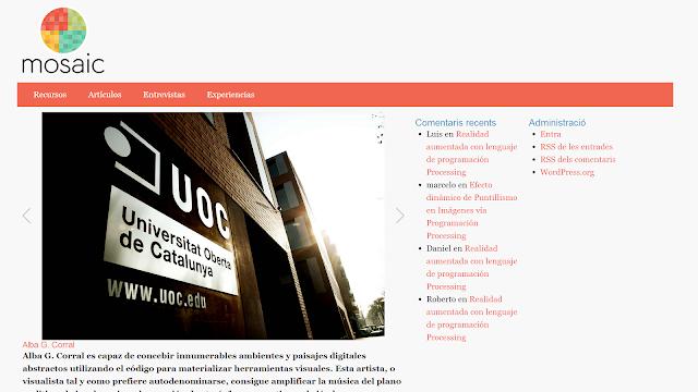 Enllaç a la web amb disseny adaptatiu de la PAC 2
