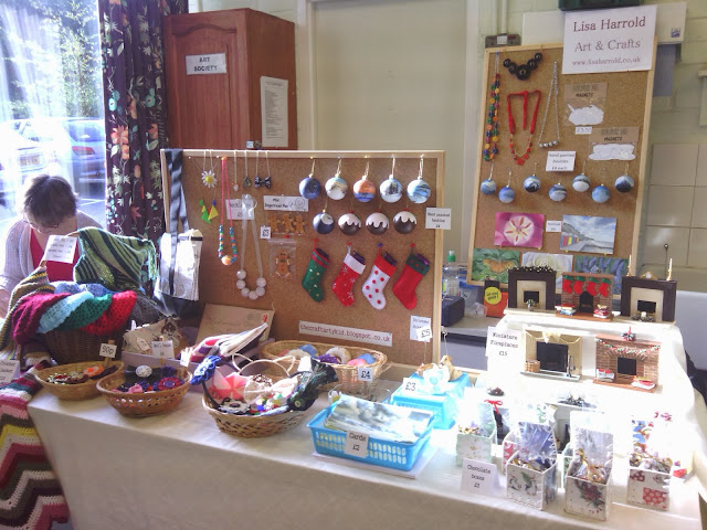 always arty craft fair set up