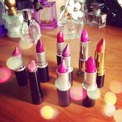 """""""lipsticks,"""