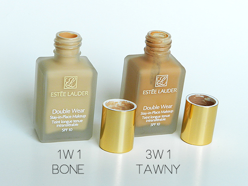 Estee Lauder Double Wear Bone and Tawny