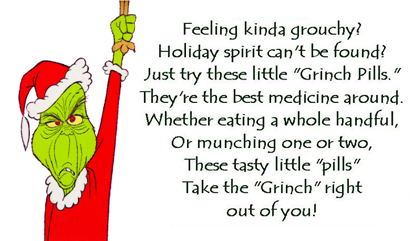 graphic about Grinch Pills Free Printable known as Grinch Drugs and Santa Cookie Toppers Crank out Year in direction of Craft