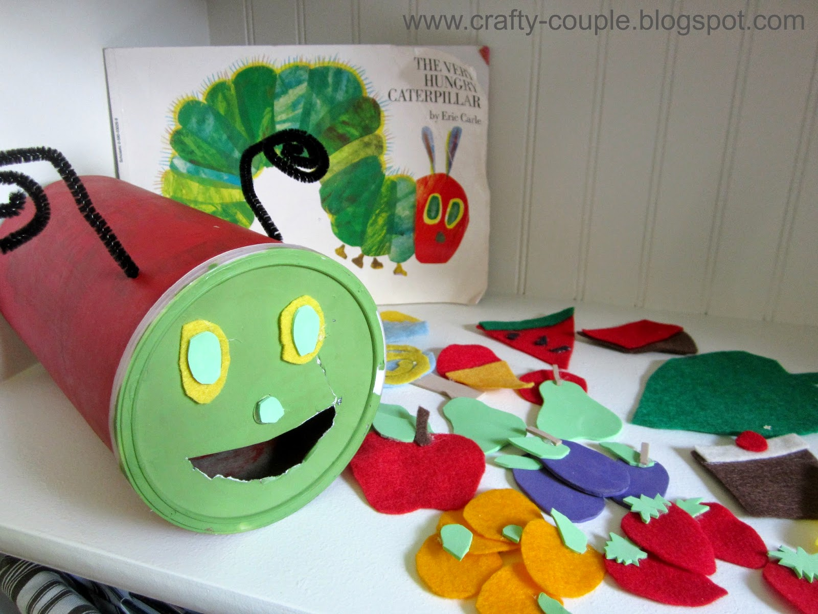 The Very Hungry Caterpillar Kid Craft