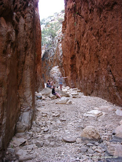 Kids at Standley Chasm