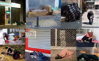 Η Αθήνα γέμισε πτώματα..Φωτογραφίες που σοκάρουν!!!..(Οι ζωντανοί νεκροί της Αθήνας του Καμίνη.)